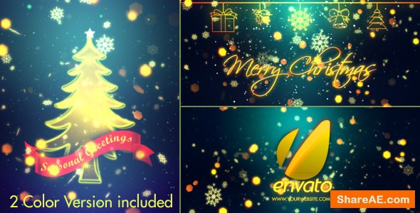 Videohive Christmas Wishes 3603935