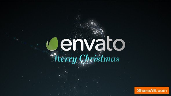 Videohive Wishing Star Particle Logo