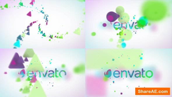 Videohive Minimal Particles Logo