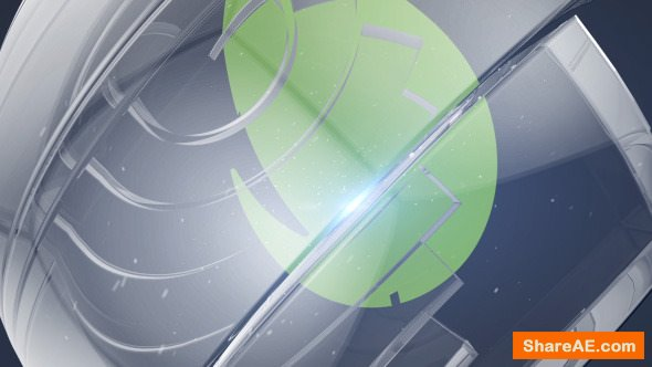 Videohive Glass Sphere Logo