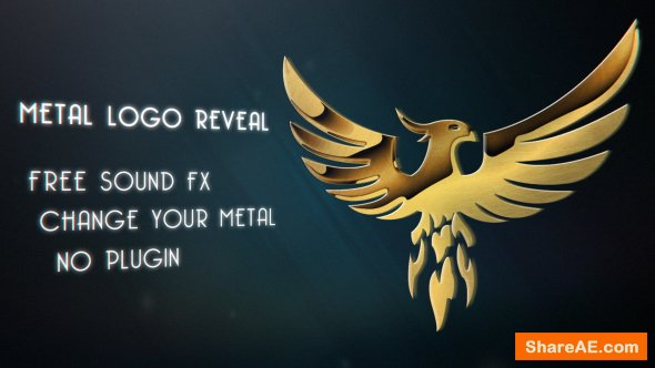 Videohive Metal Logo Reveal