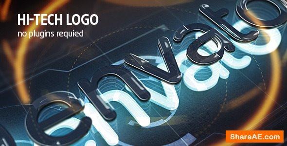 Videohive Hi-Tech Logo 7533061