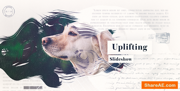 Videohive Uplifting Slideshow