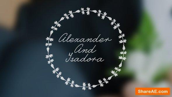 Videohive Wedding Animated Typeface