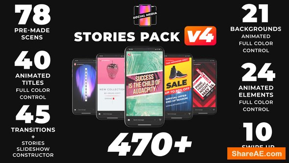 Videohive Instagram Stories 21895564