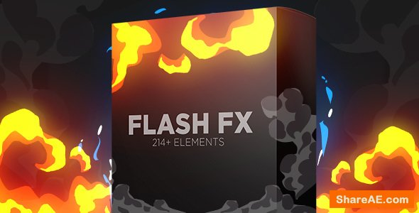Videohive Flash Fx Elements | Hand Drawn Bundle Pack - Motion Graphic