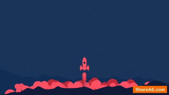 Videohive Start Up Rocket Logo