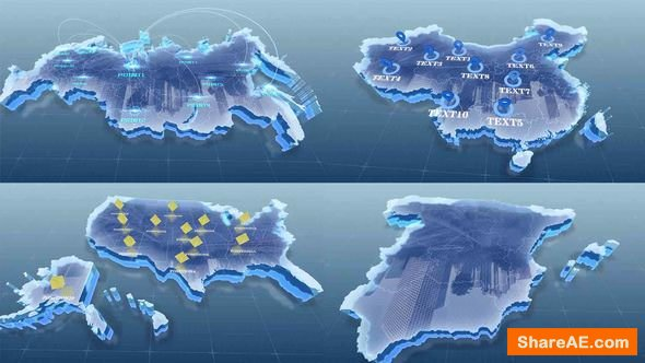 Videohive Map Customization