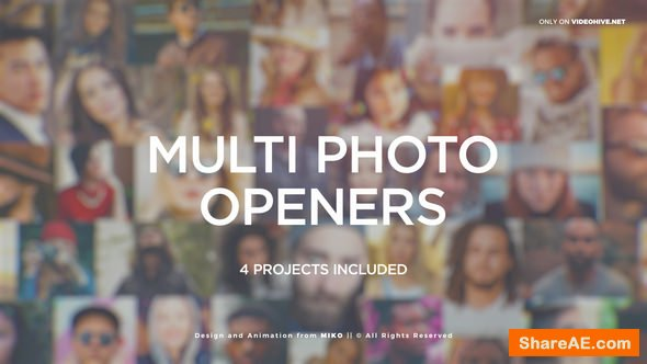 Videohive Multi Photo Logo Openers