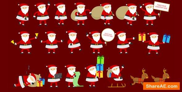 Videohive Santa Animation & Greetings