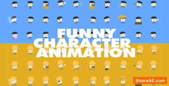 Videohive Funny Character Animations