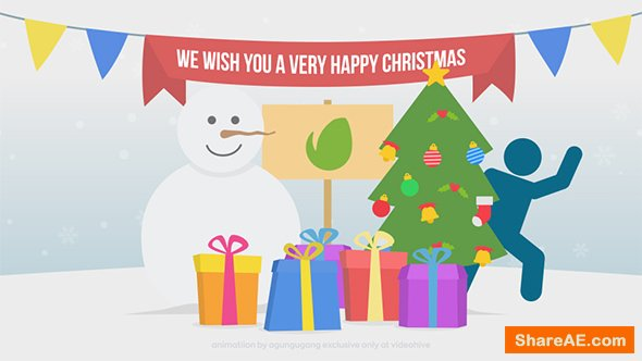 Videohive Happy Christmas