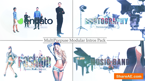 Videohive Multi-purpose Logo Into Pack,Custom Photos, Product / Service