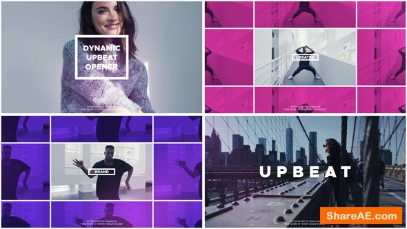 Videohive Upbeat Opener 22638494
