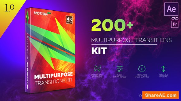 Videohive Transitions 22613802