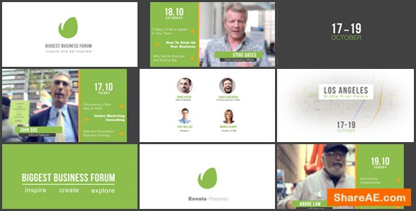 Videohive Business Forum | Event Promo