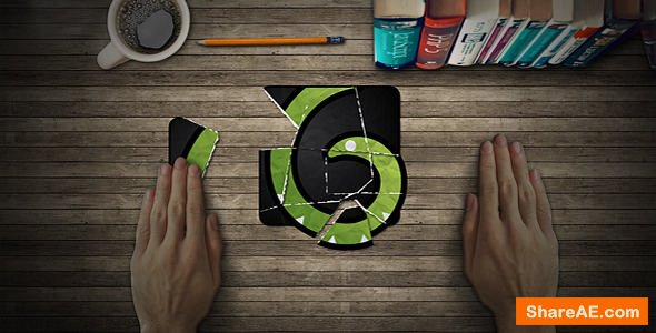 Videohive Collage Logo Reveal