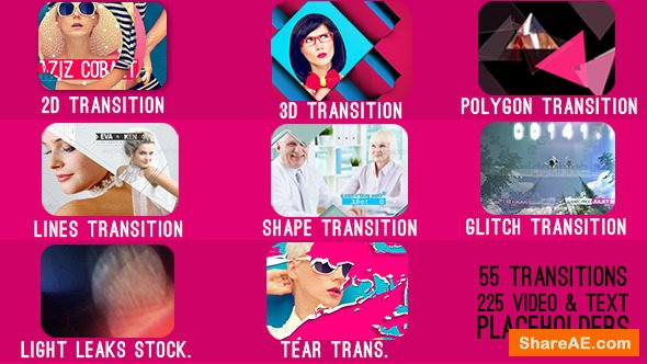 Videohive Transitions - After Effects Project