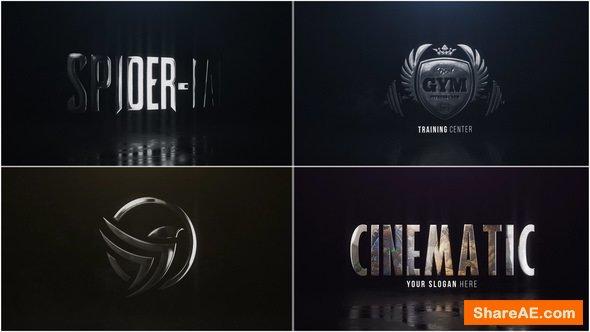 Videohive Cinematic Hero Logo