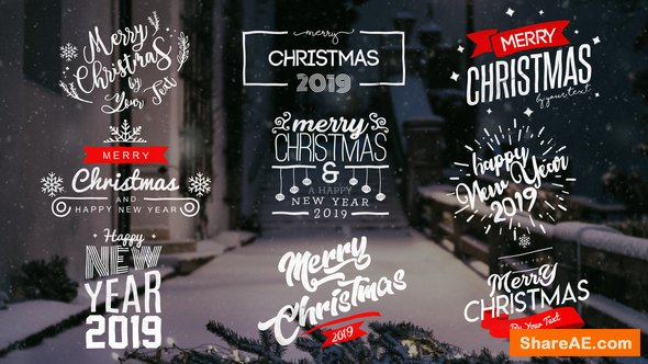 Videohive Christmas Titles 22831974