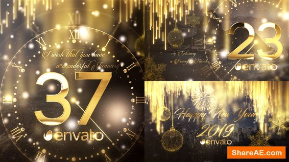 Videohive New Year Countdown 2019