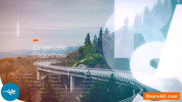 Videohive Cinematic Slideshow 21983757