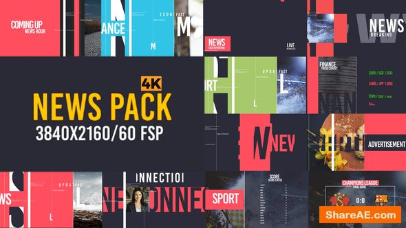 Videohive News Pack V2