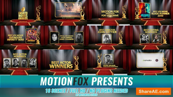 Videohive Awards Show 22382527