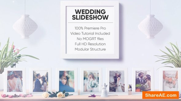 Videohive Wedding Slideshow - Premiere Pro