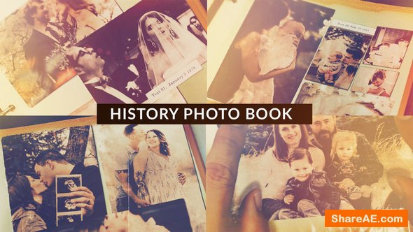 Videohive History Photo Book