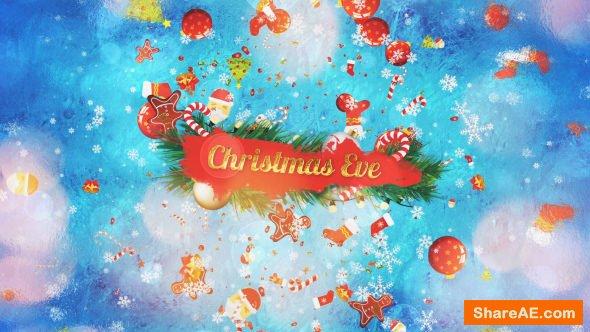 Videohive Christmas Eve Slideshow