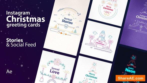 Videohive Instagram Christmas