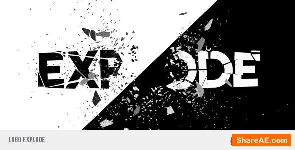 Videohive Logo Explode