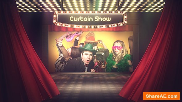 Videohive Curtain Show