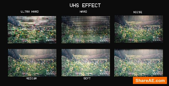 Videohive VHS EFFECT