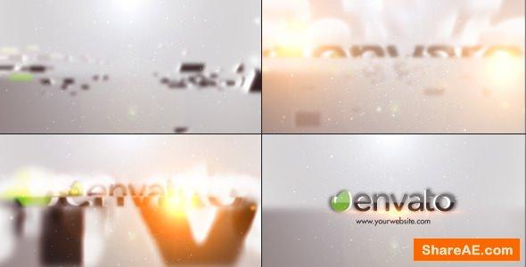 Videohive Minimal Slice Logo