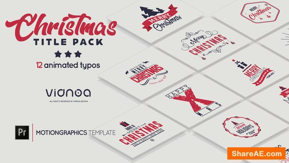 Videohive Christmas Title Pack - Premiere Pro