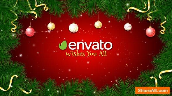Videohive Christmas Greetings 13799644