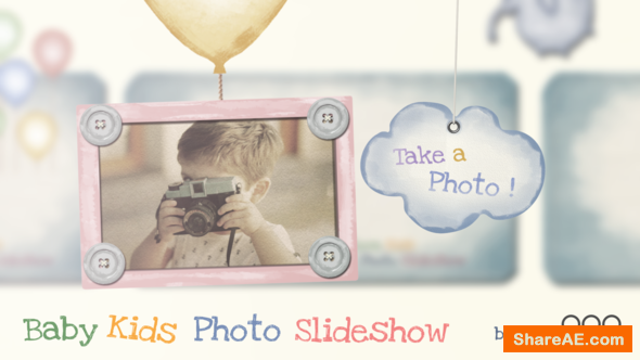 Videohive Baby Kids Photo Slideshow
