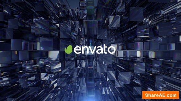 Videohive Glass Columns Logo