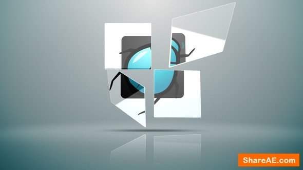 Videohive Clean Glossy Logo Sting