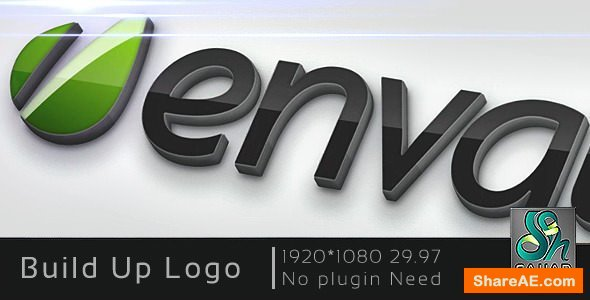 Videohive Build Up Logo