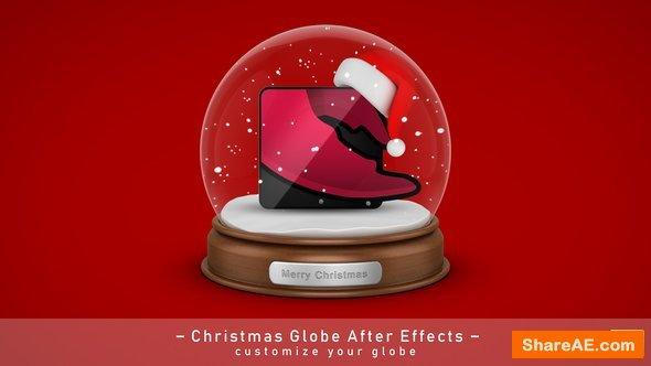 Videohive Christmas Globe Elements