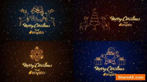 Videohive Christmas Short Greetings