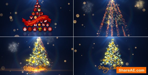 Videohive Christmas Intro 13598926