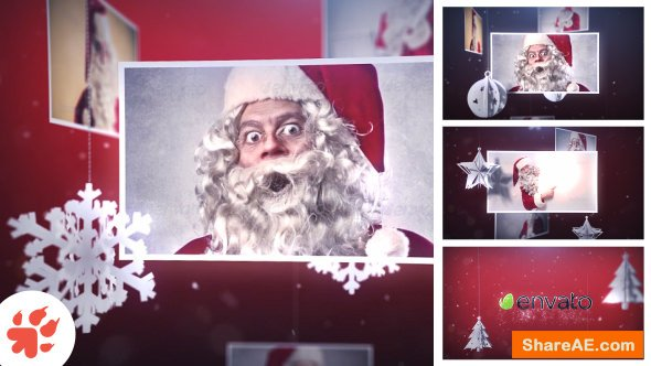 Videohive Magic Christmas Slideshow