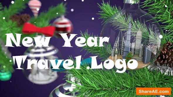 Videohive New Year Travel Logo