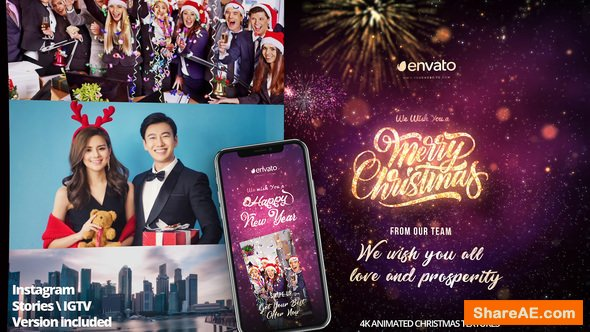 Videohive Christmas Greeting Pack