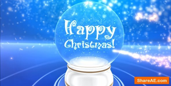 Videohive Glass snowball