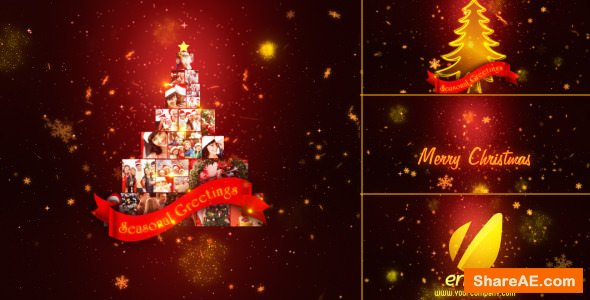 Videohive Christmas Wishes Multi Video